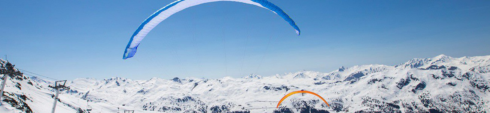 parapente Courchevel